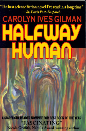 Cover Image for Halfway Human (2), by Carolyn Ives Gilman
